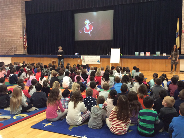 Author Day with Molly Idle